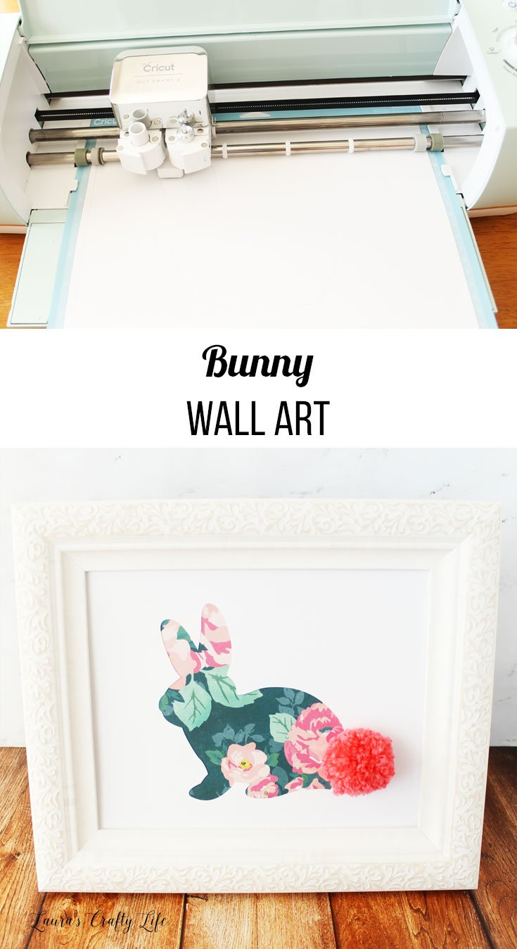 How to create bunny wall art for spring and Easter