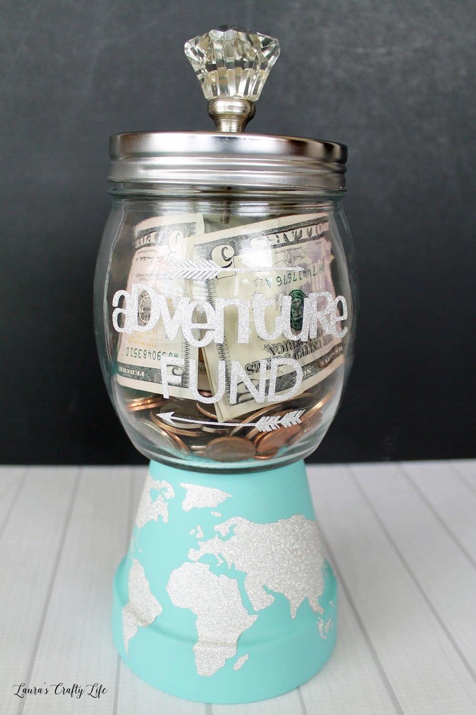 Travel Savings Jar tutorial