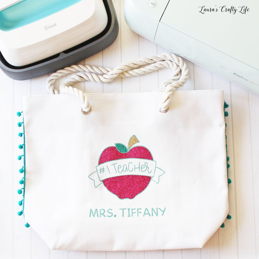 #1 Teacher tote bag gift idea