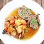 Crock-Pot venison roast with vegetables