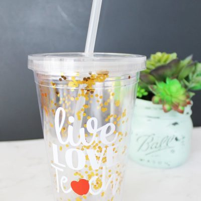 Teacher Appreciation Cup Gift Idea