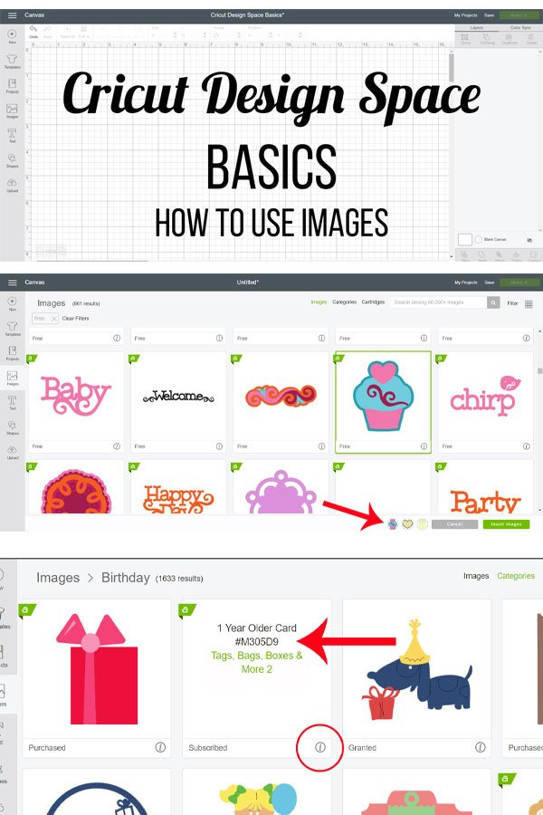 How to Use Images in Cricut Design Space plus a video tutorial