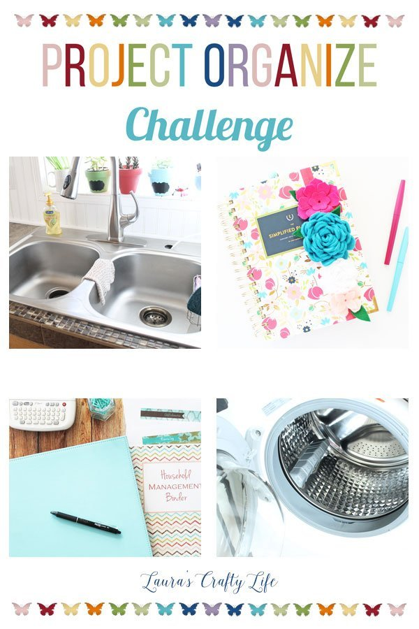 Project Organize Challenge - join us in conquering overwhelm and get organized