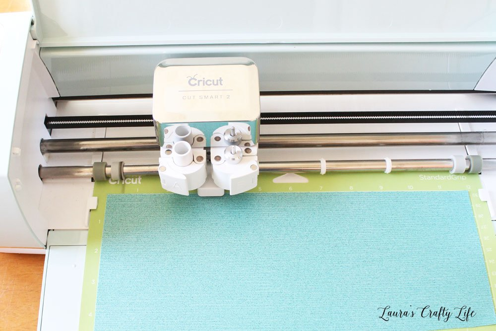 Use Cricut Explore Air 2 to cut glitter iron on