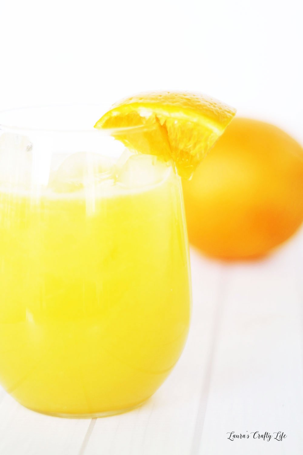 Orange juice brunch punch recipe