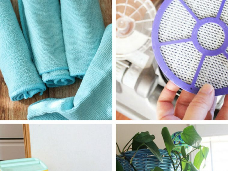 10 ways to reduce allergies inside the home #shop