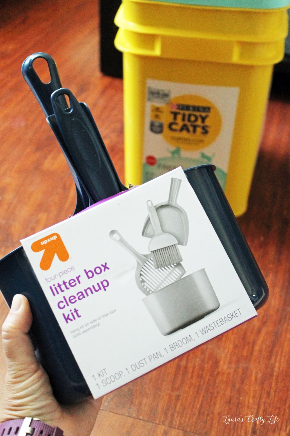 Litter box cleanup kit from Target #shop