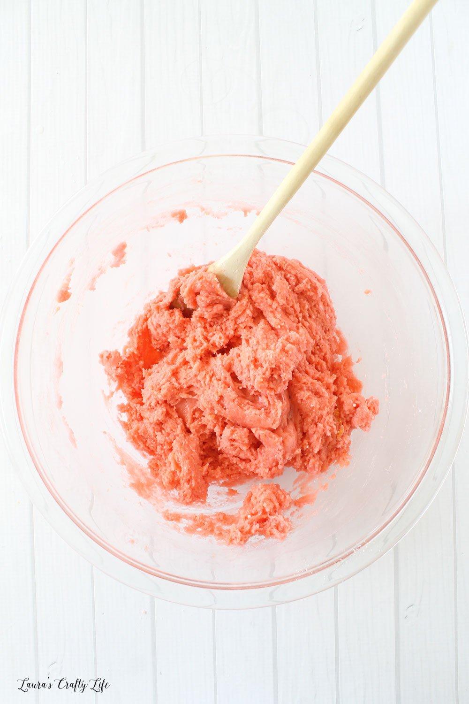 Stir to combine ingredients