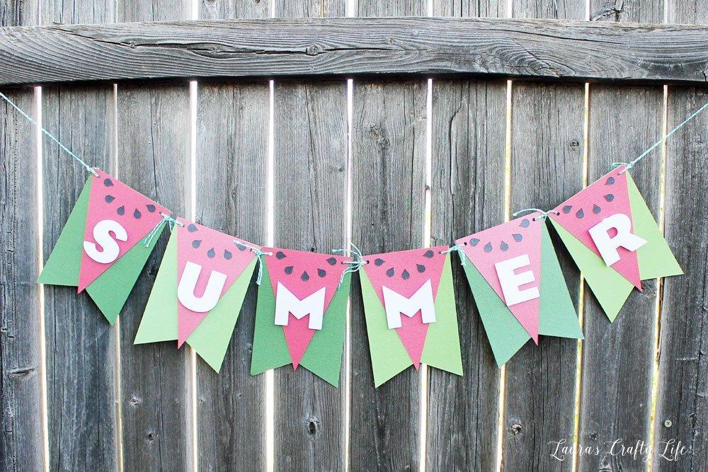 Summer Watermelon Banner