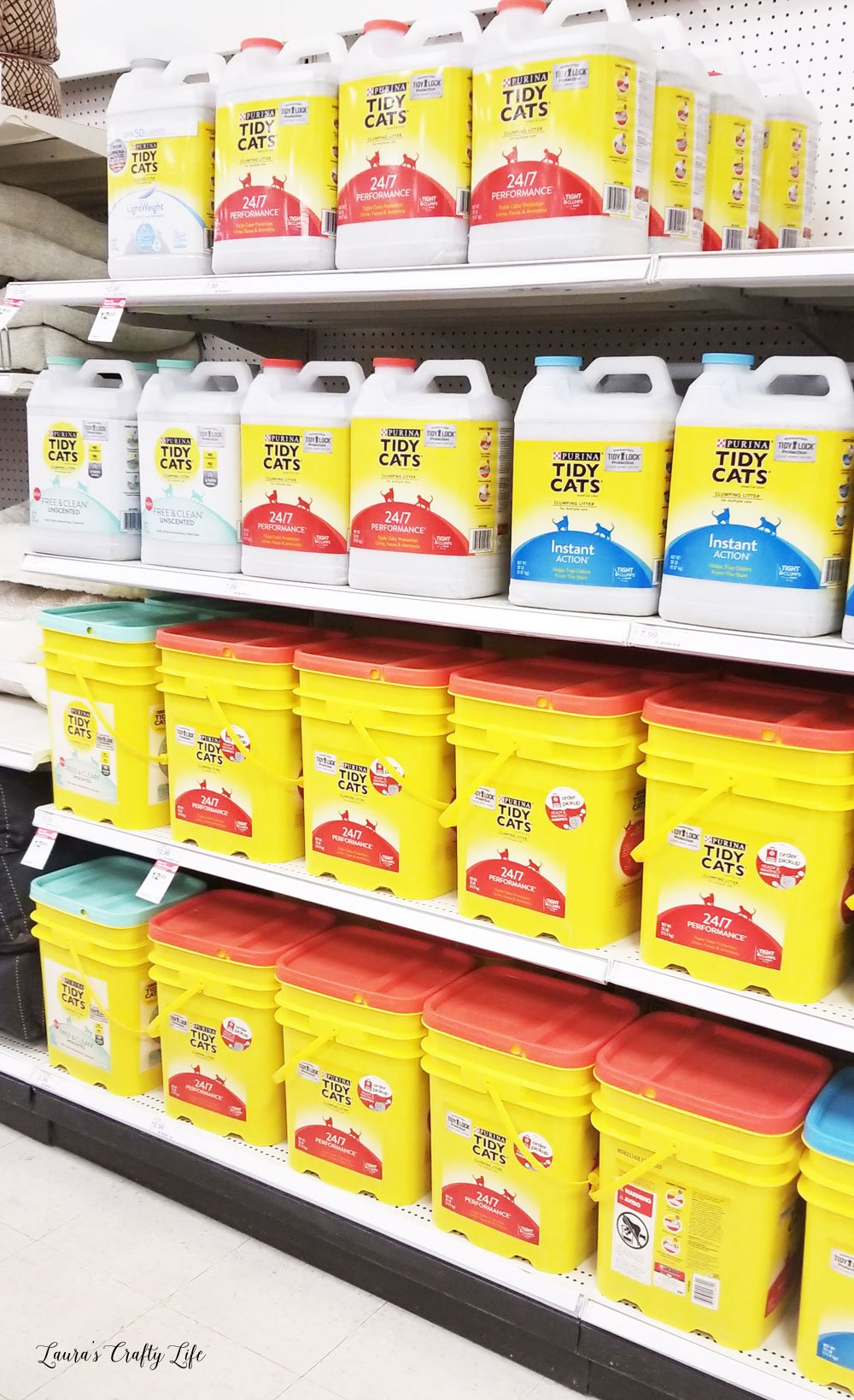 TIDY CATS litter at Target #shop