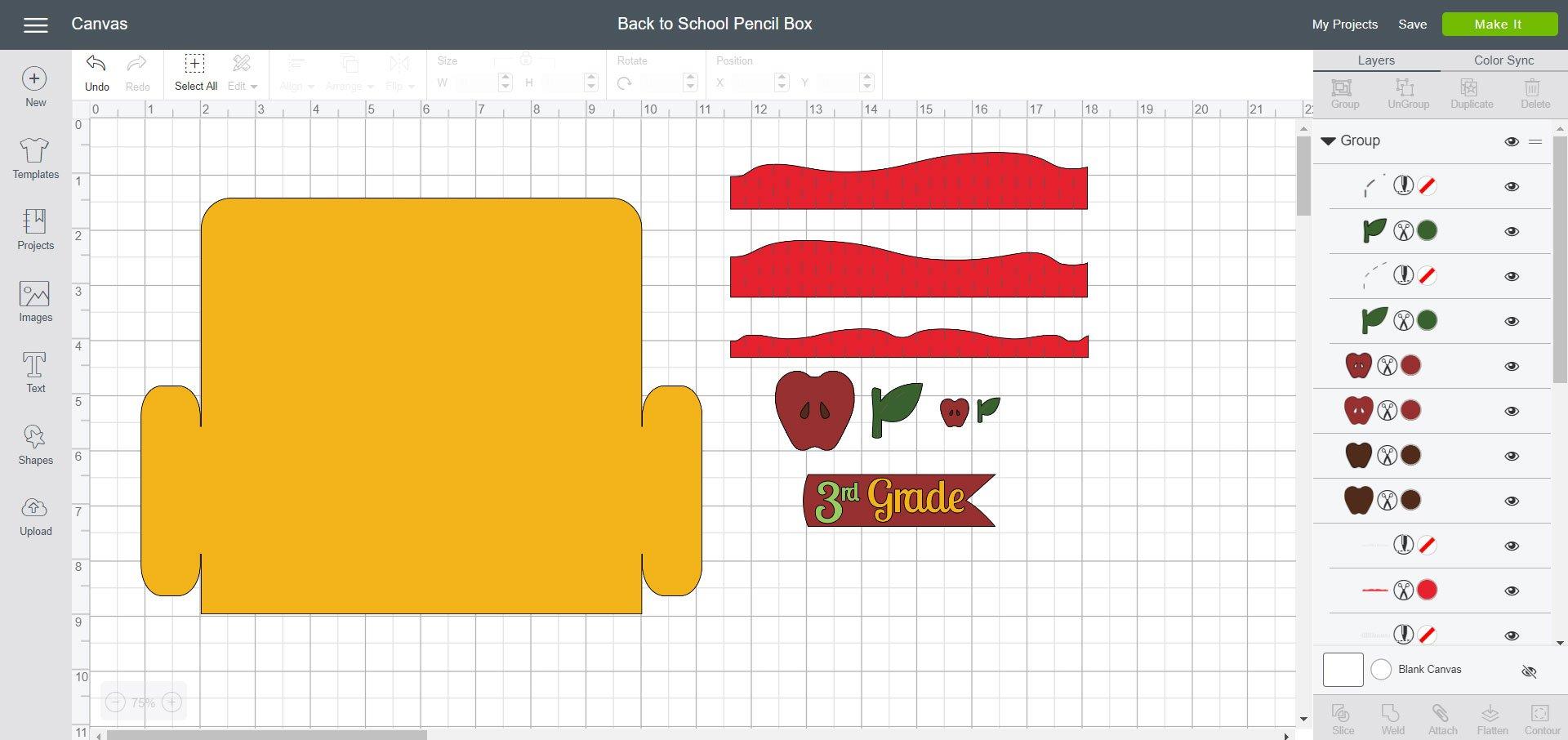 Back to School Pencil Box