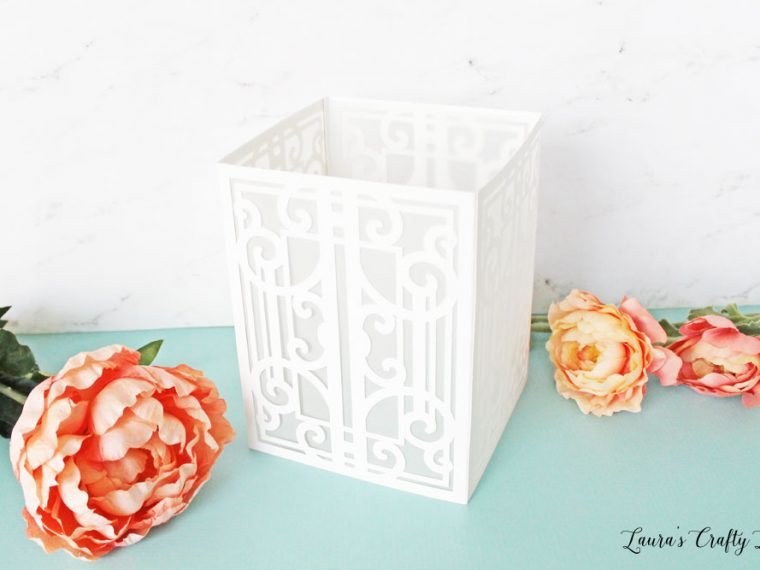 Create beautiful paper lanterns perfect for weddings or parties using the Cricut Maker