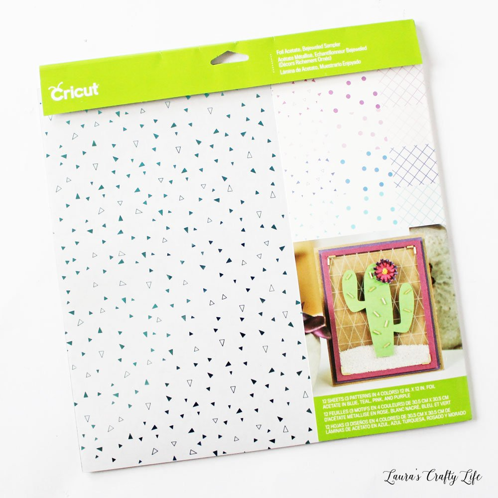 Cricut Foil Acetate Sheets