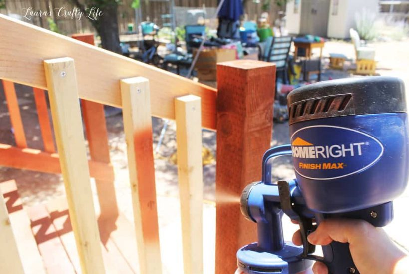How To Stain A Deck Homeright Finish Max Paint Sprayer