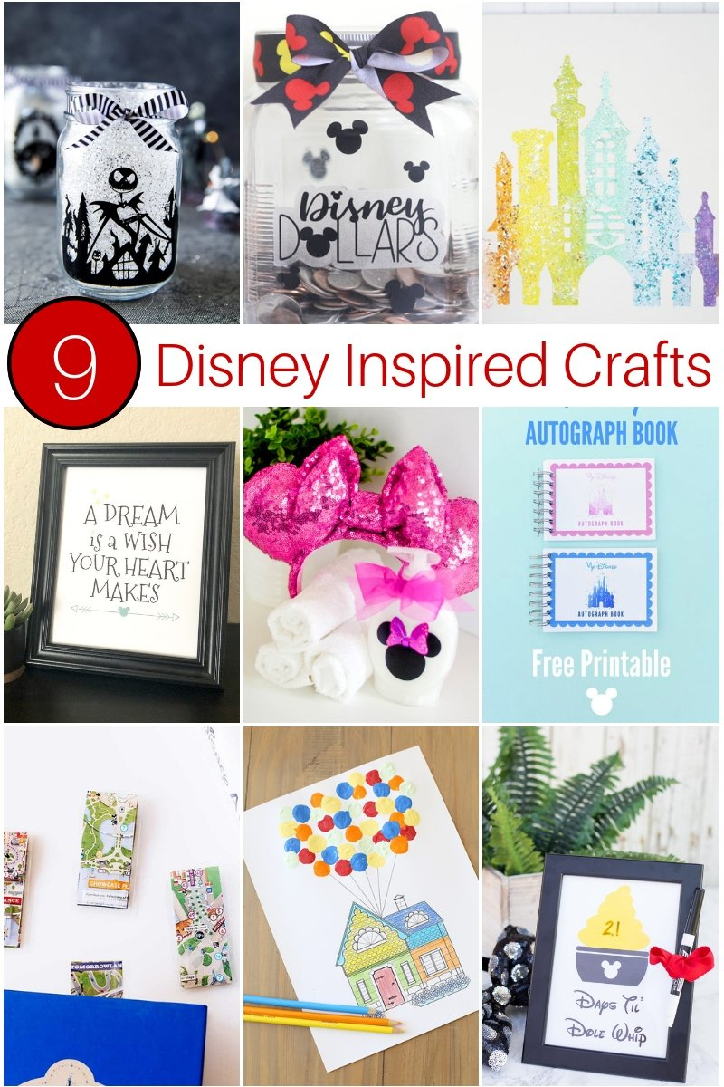 9 Disney Inspired Craft Ideas