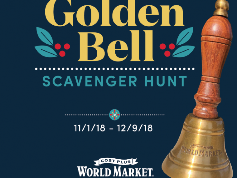 Golden Bell Scavenger Hunt - Cost Plus World Market