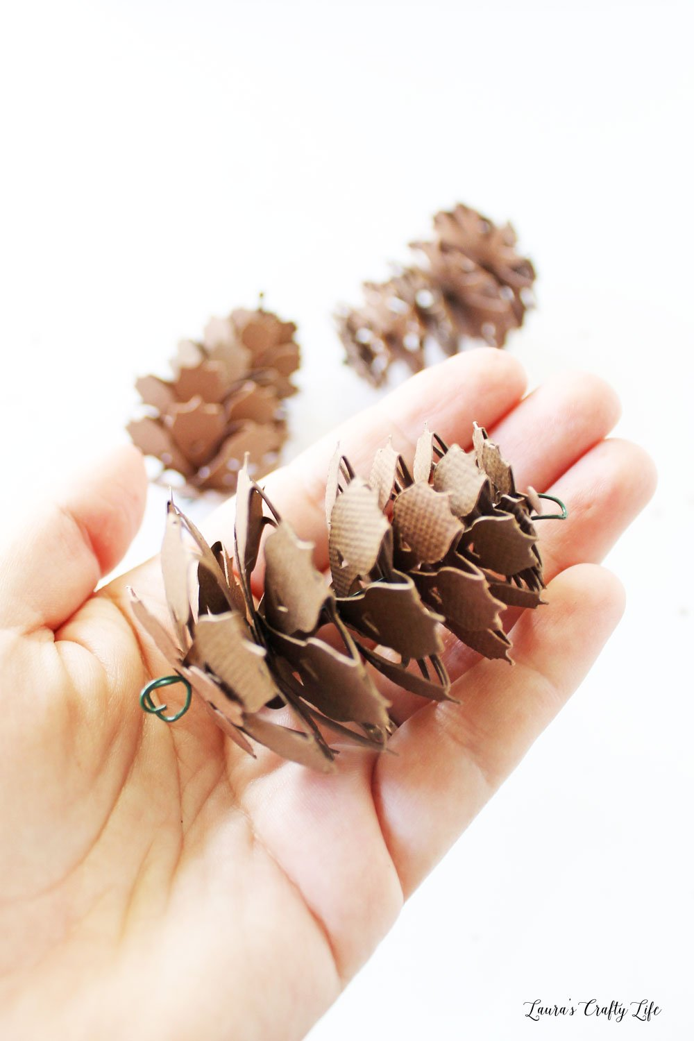 Make a paper pinecone with the Cricut Maker