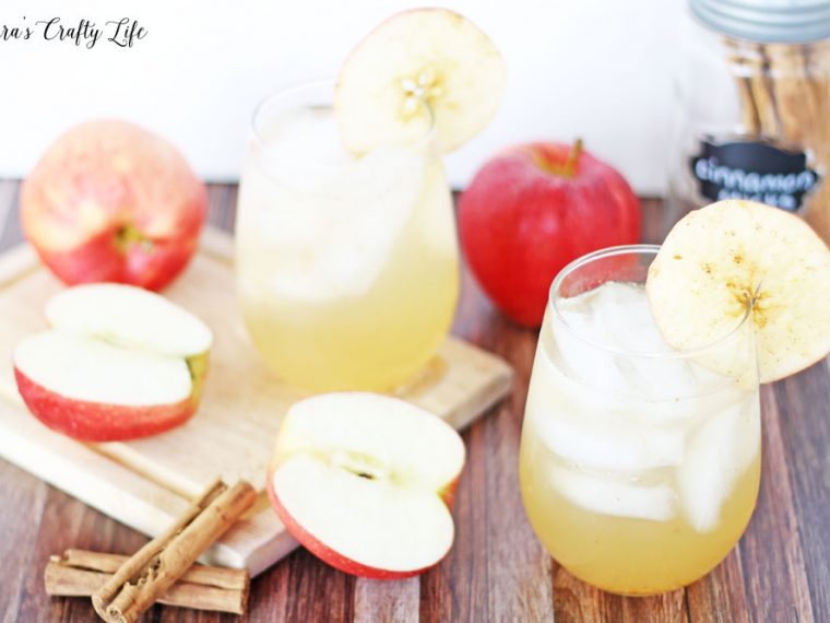 Sparkling apple cider punch recipe for fall