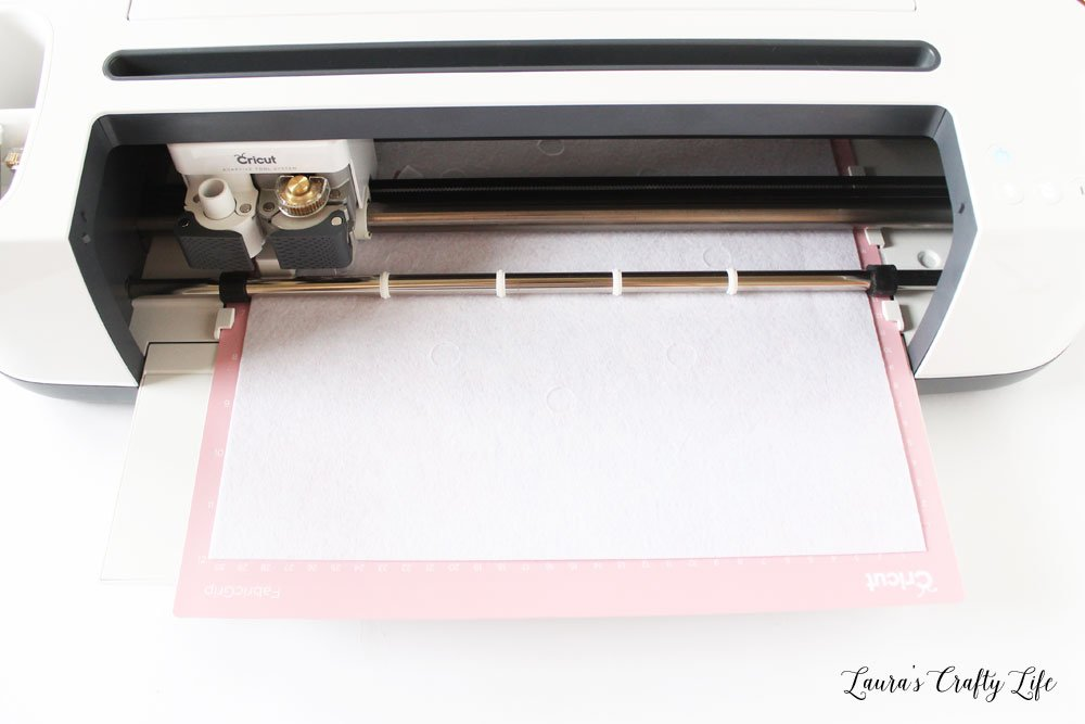 Use the Cricut Maker to cut felt
