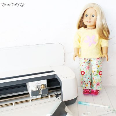 Use Cricut Maker to make doll clothes for American Girl doll