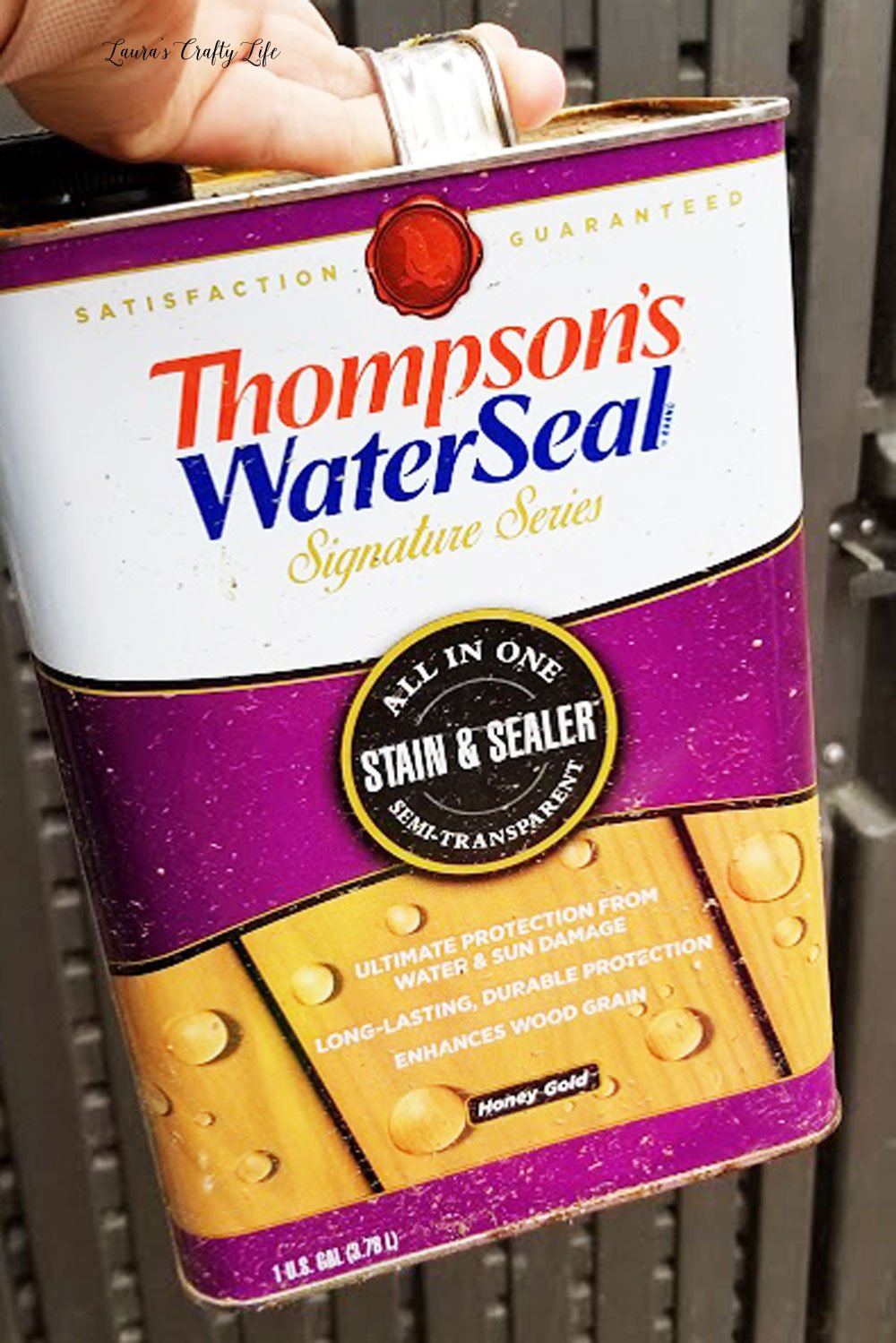 Thompson's Waterseal Semi-Transparent Honey Gold