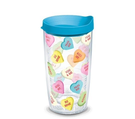 Candy Hearts Tervis Tumbler