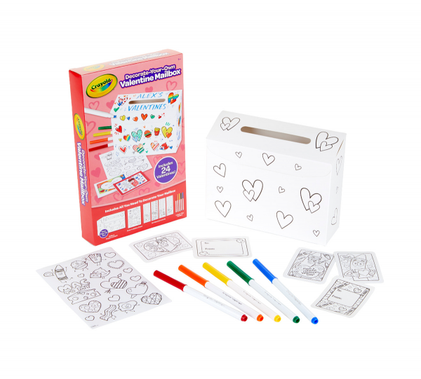 Crayola Decorate Your Own Valentine Mailbox