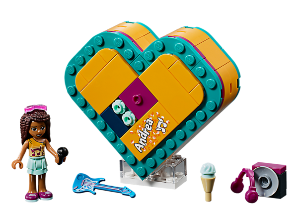 LEGO Friends Andrea Heart Box