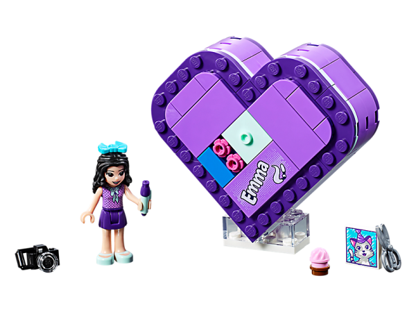 LEGO Friends Emma Heart Box