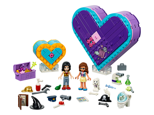 LEGO Friends Friendship Heart Box
