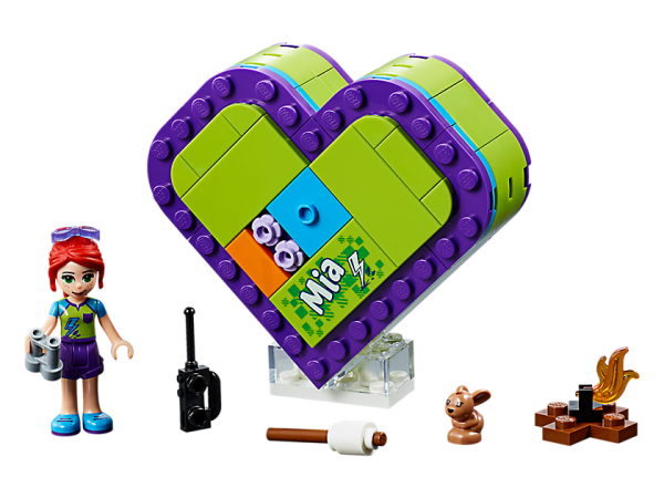 LEGO Friends Mia Heart Box