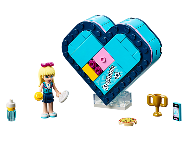 LEGO Friends Stephanie Heart Box