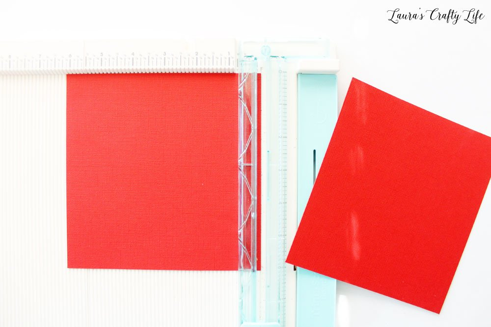 Trim your paper according to 123 Punch Board guide
