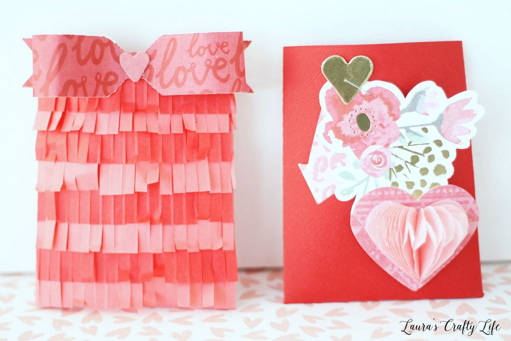 Valentine's Day party favor envelopes