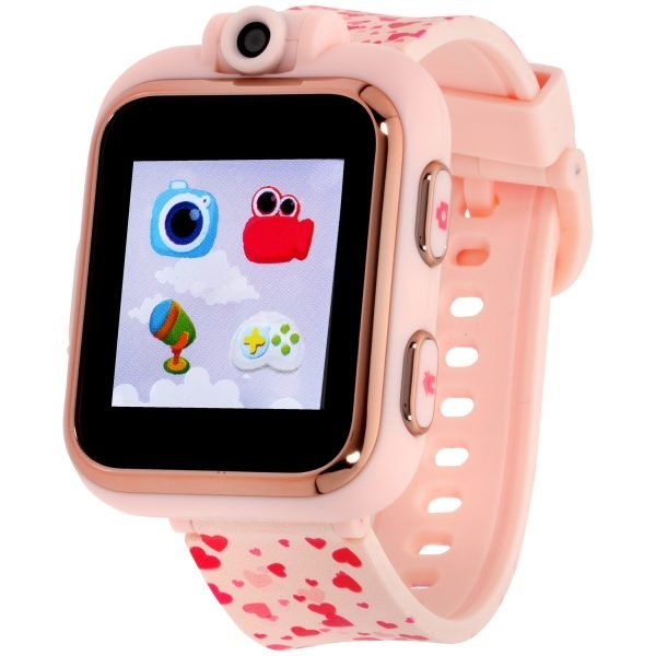 iTouch Playzoon Kids Smart Watch Blush Hearts Pattern