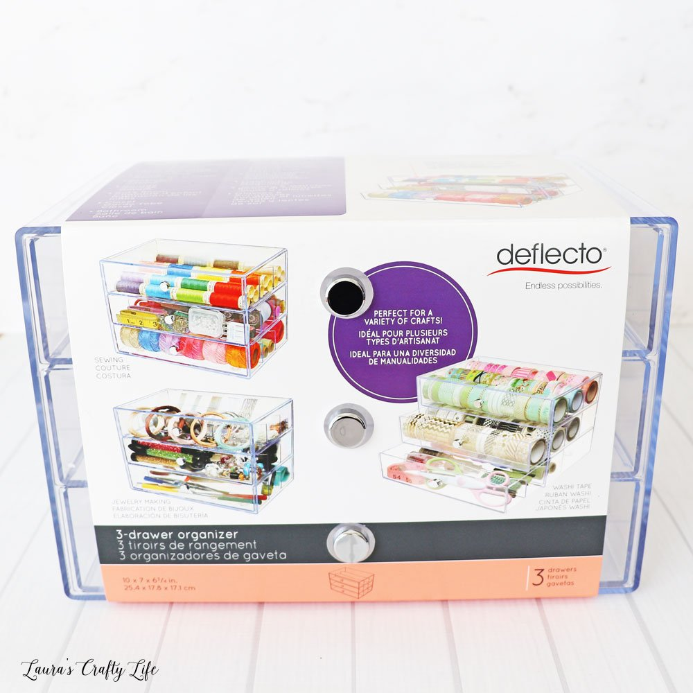 Deflecto Washi Storage Cube