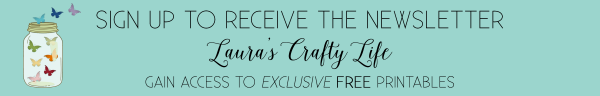 Sign up for the newsletter - Laura's Crafty Life
