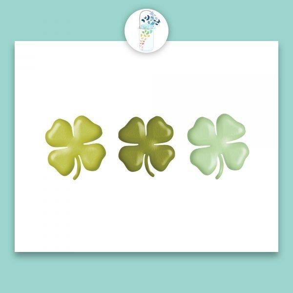 four leaf clover digital printable