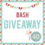 Birthday Bash Giveaway square infographic