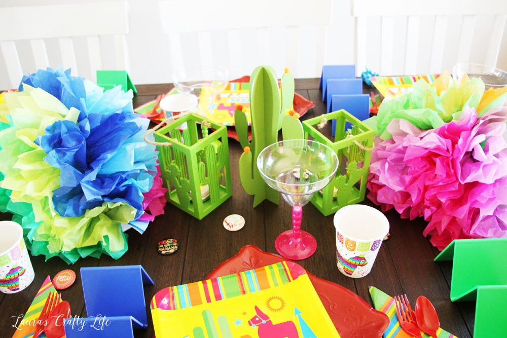 Centerpiece for Fiesta Taco Party