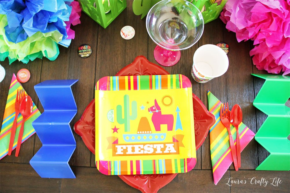 Fiesta Taco Party place setting