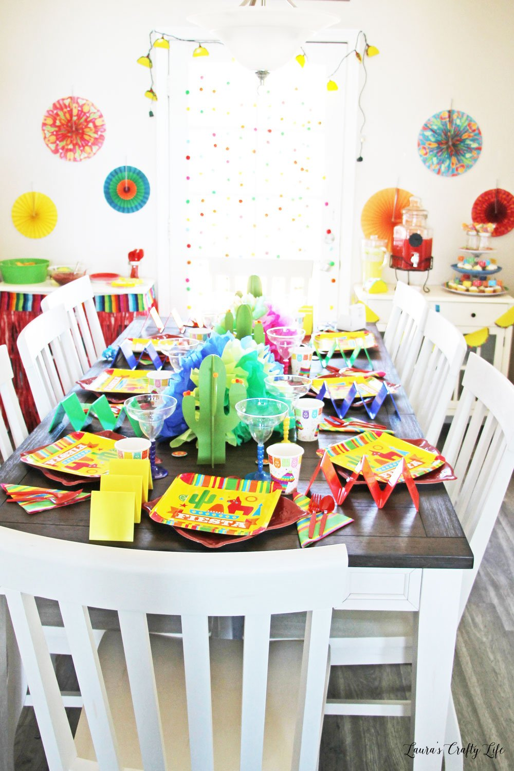 Fiesta Taco Party with Oriental Trading Co