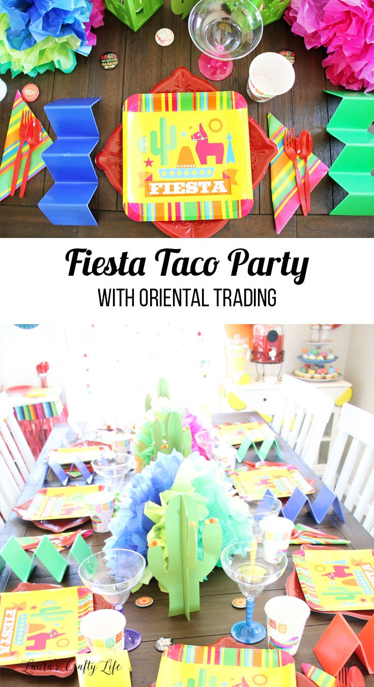 Fiesta Taco Party with Oriental Trading