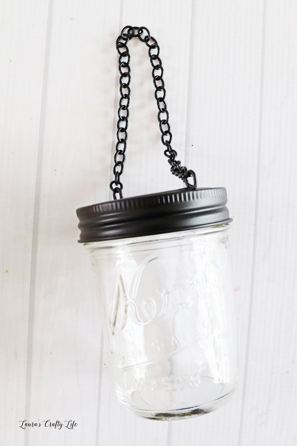 Add hanging lid to jar