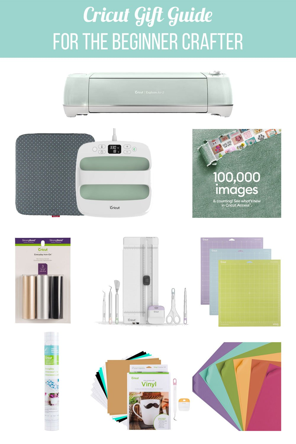 Cricut Gift Guide for Beginner Crafter