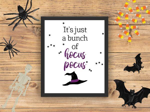 Hocus Pocus Halloween printable