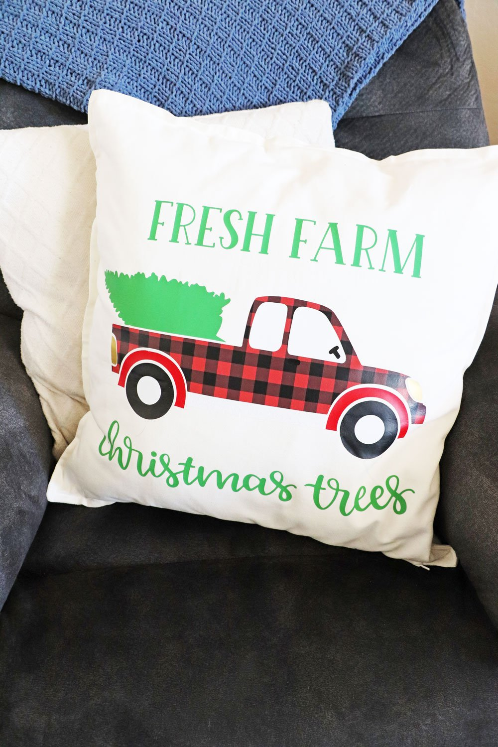 Farm Fresh Christmas Tree Pillows