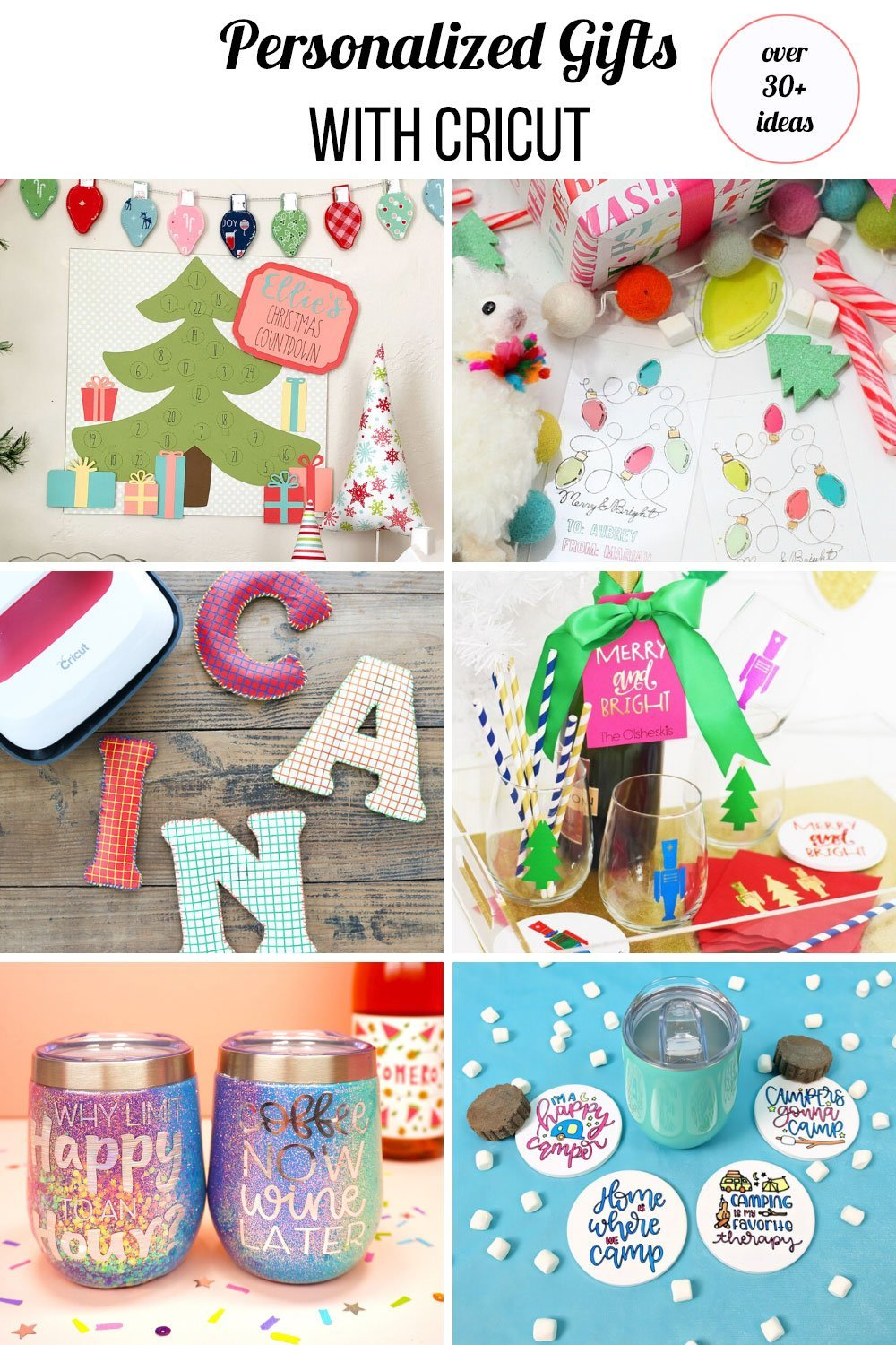 colorful personalized Christmas gifts