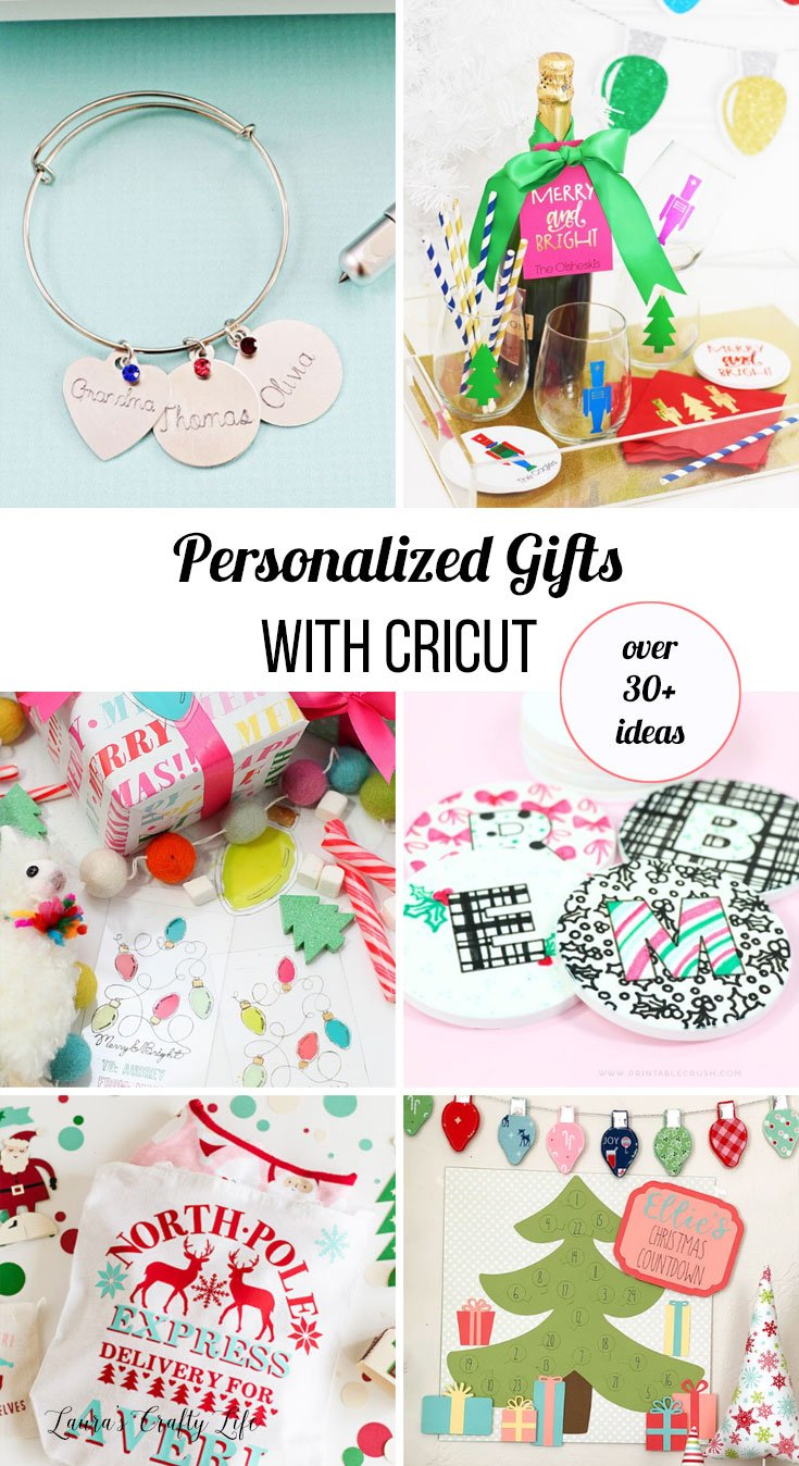personalized gifts with Cricut