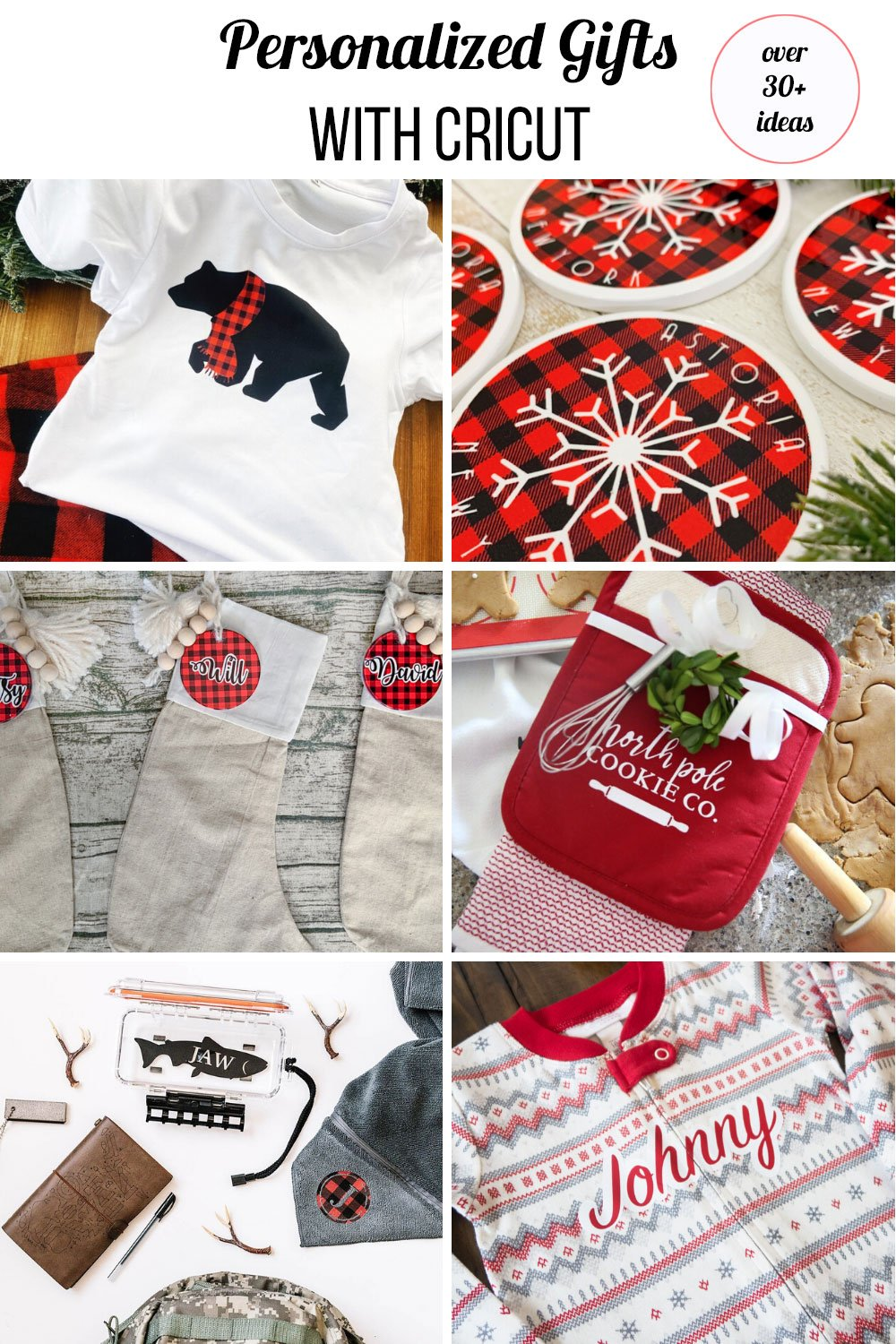 red personalized Christmas gifts